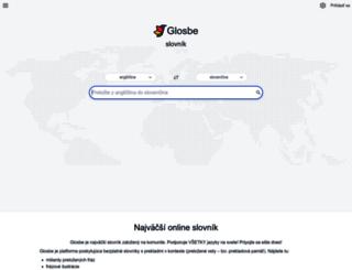 sk.glosbe.com screenshot