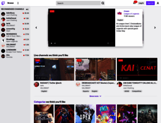 sk.twitch.tv screenshot