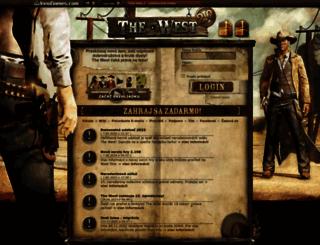 sk3.the-west.sk screenshot