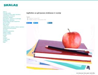 skalas.lv screenshot