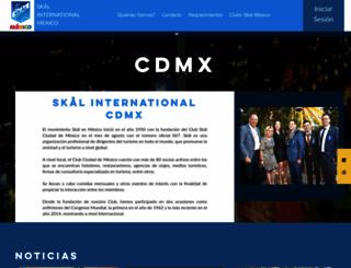 skalmexicocity.org.mx screenshot