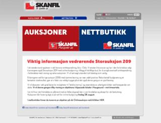 skanfil.no screenshot
