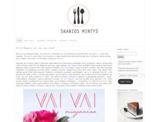 skaniosmintys.wordpress.com screenshot