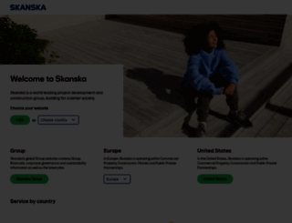 skanska.com screenshot