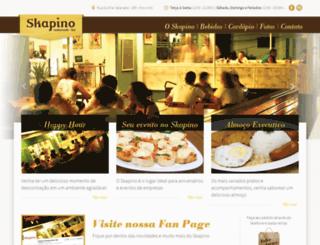 skapino.com.br screenshot