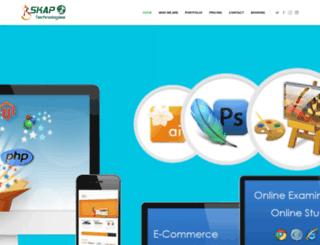 skaptechnologies.com screenshot