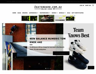 skateboard.com.au screenshot