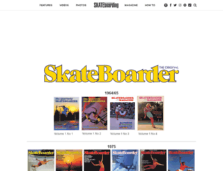 skateboardermag.com screenshot
