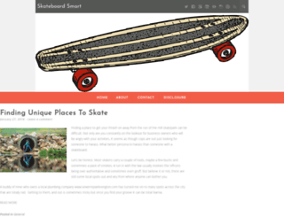 skateboardsmart.com screenshot