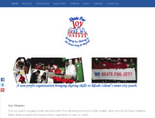 skateforjoy.com screenshot