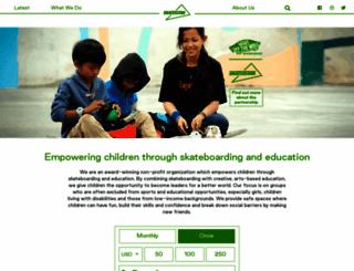 skateistan.org screenshot