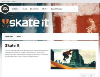 skateit.ea.com screenshot