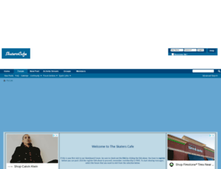 skaterscafe.com screenshot