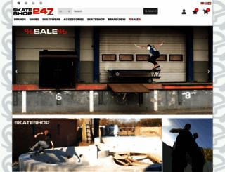 skateshop247.com screenshot
