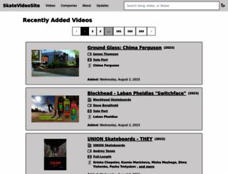 skatevideosite.com screenshot