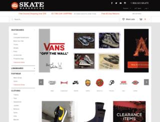 skatewarehouse.com screenshot