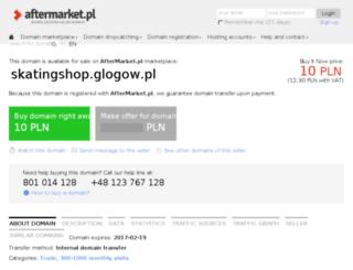 skatingshop.glogow.pl screenshot