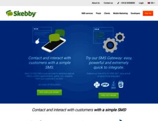 skebby.com screenshot