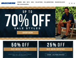 skechers.com.sg screenshot
