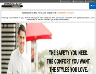 skechersdirect.com screenshot