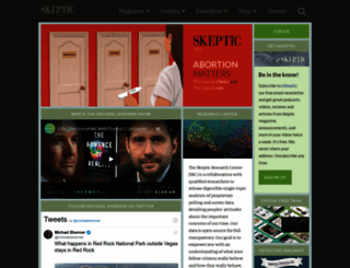 skeptic.com screenshot