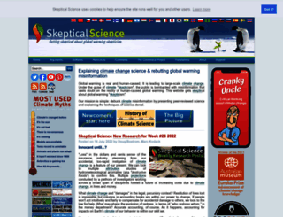 skepticalscience.com screenshot