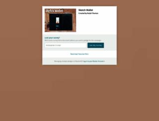 sketch-wallet.backerkit.com screenshot