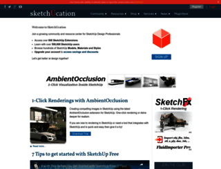 sketchucation.com screenshot
