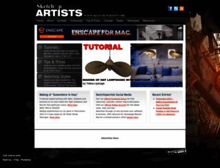 sketchupartists.org screenshot