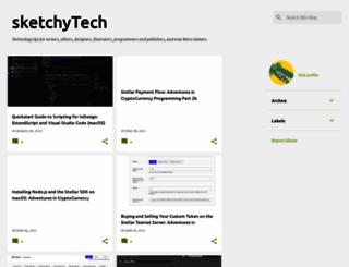 sketchytech.blogspot.com screenshot