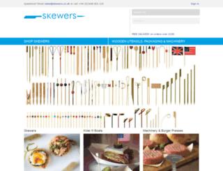 skewers.co.uk screenshot