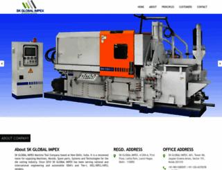 skglobalimpex.com screenshot