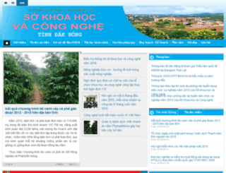 skhcn.daknong.gov.vn screenshot