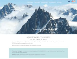 ski-chamonix.net screenshot