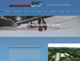 ski-glasgow.co.uk screenshot