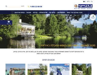 ski-graiver.co.il screenshot