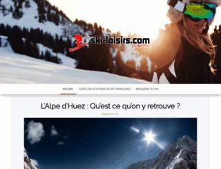 ski-loisirs.com screenshot