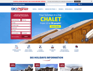 ski-planet.co.uk screenshot
