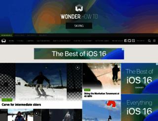 ski.wonderhowto.com screenshot