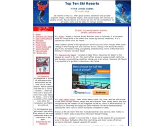 skiamericanslopes.com screenshot