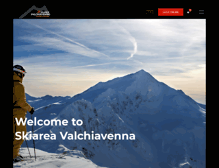 skiareavalchiavenna.it screenshot