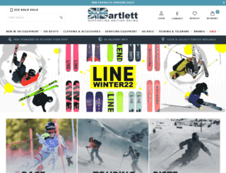 skibartlett.com screenshot