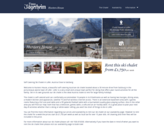 skichaletsaustria.co.uk screenshot
