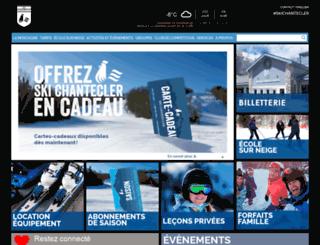 skichantecler.com screenshot