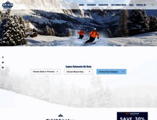 skicoupons.com screenshot