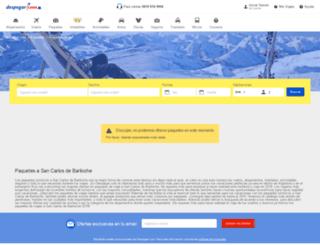 skidespegar.com screenshot