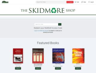 skidmore.redshelf.com screenshot