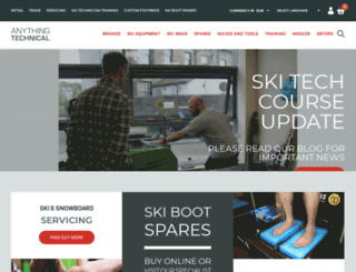 skiequipmentuk.com screenshot