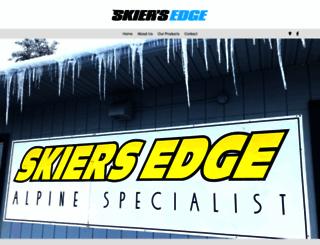 skiersedgeonline.com screenshot