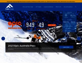 skifalls.com.au screenshot